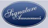 Signature Announcements