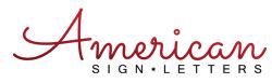 Americansignletters