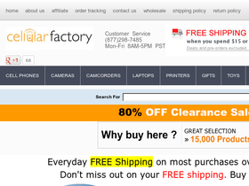 Cellular Factory Coupons