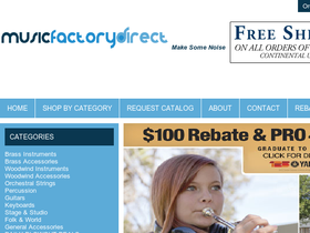 Music Factory Direct Coupons