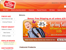 Kids Software Outlet Coupons