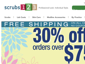 Scrubs123 Coupons