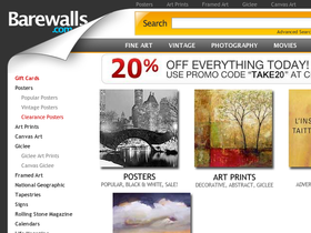 BareWalls Coupons
