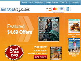 Best Deal Magazines Coupons