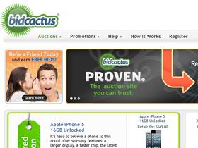 BidCactus Coupons