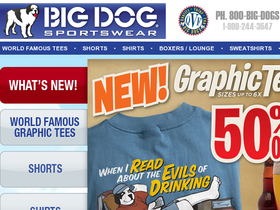 Big Dogs Sportswear Coupons