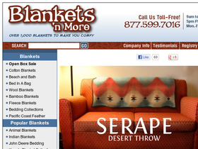 Blankets 'n More Coupons