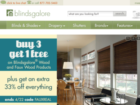 Blindsgalore Coupons