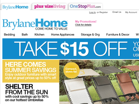 brylane home coupon brylane home coupons codes and deals retailsteal 10129