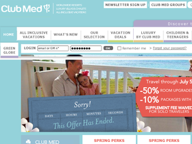 Club Med North America Coupons