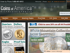 Coins of America Coupons
