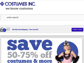 Costumes Inc. Coupons