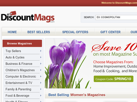 Discount Mags Coupons