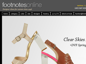 Footnotes Online Coupons