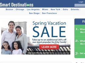 Smart Destinations - Go Card USA Coupons