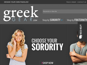Greek Gear Coupons