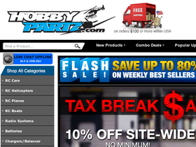 HobbyPartz Coupons