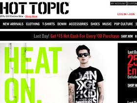 Hot Topic Coupons
