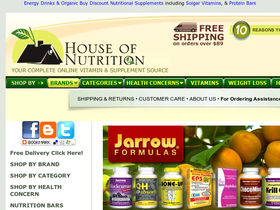 House Of Nutrition Coupons