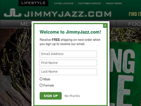 JimmyJazz Coupons