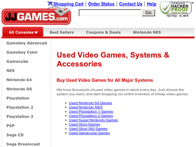 JJ Games Coupons
