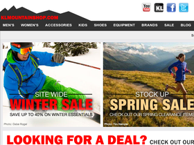 KL Mountain Shop Coupons