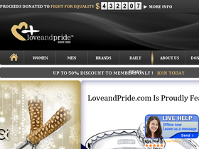 Love and Pride Jewelry Coupons
