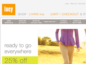 Lucy Activewear Coupons
