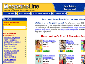 Magazineline Coupons