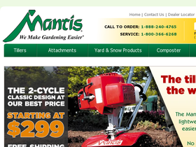 Mantis Garden Products Coupons