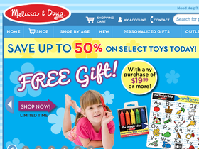 Melissa & Doug Toys Coupons