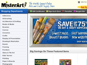 Mister Art Coupons