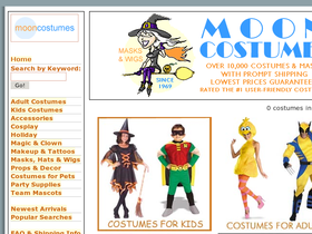 Moon Costumes Coupons
