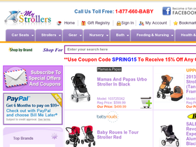 My Strollers Coupons