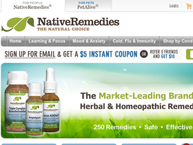 NativeRemedies Coupons