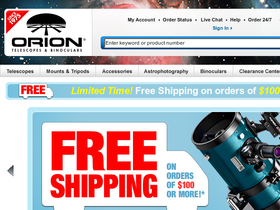 Orion Telescopes and Binoculars Coupons