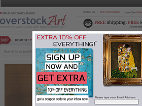 Overstock Art Coupons
