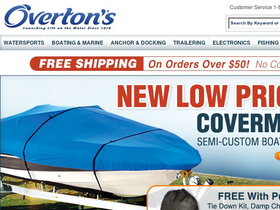 Overton's Coupons