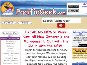 Pacific Geek Coupons