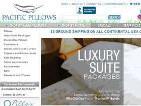 Pacific Pillows Coupons