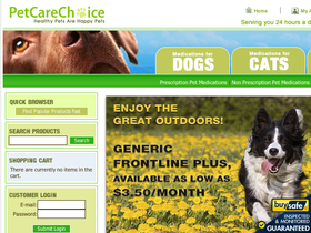 Pet Care Choice Coupons