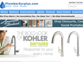 PlumberSurplus.com Coupons