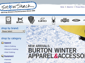 Snow Shack Coupons