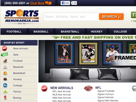 SportsMemorabilia.com Coupons