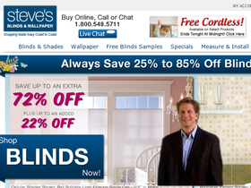 Steve's Blinds and Wallpaper Coupons