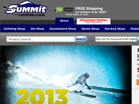 Summit Online Coupons