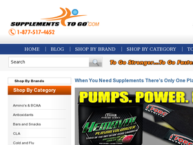 Supplements To Go Coupons
