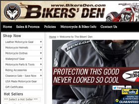 Bikers' Den Coupons