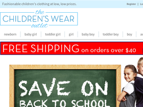 The Children's Wear Outlet Coupons