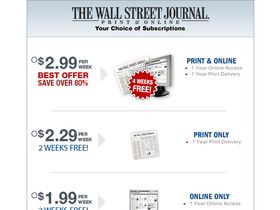 The Wall Street Journal Coupons